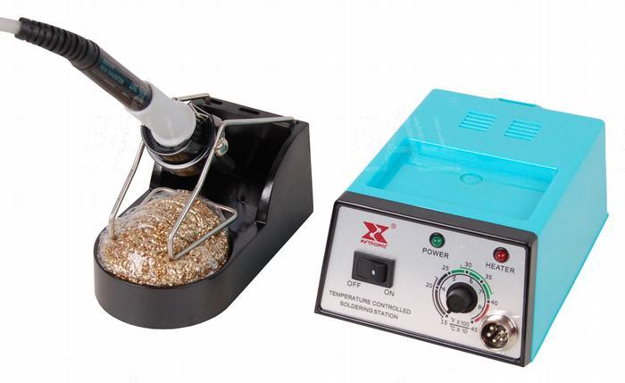Zdj�cie produktu: Xytronic 168-3C Stacja lutownicza 24V/ 60W RoHS