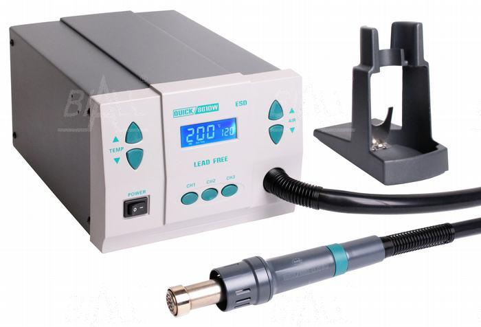 Zdj�cie produktu: Quick 861DW ESD Stacja lutownicza  HOT AIR 1kW,120l/min